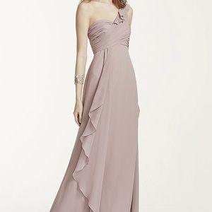 David's bridal F15734 mint dress size 2 NWT
